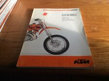 2004 KTM MOTORCYCLE OWNERS MANUAL 50 SX PRO JUNIOR/SENIOR LC