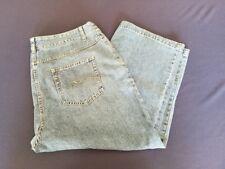 Womens Christopher & Banks Denim Blue Jeans Capris Size 12