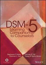 DSM-5 LEARNING COMPANION FOR COUNSELORS - NEW PAPERBACK BOOK