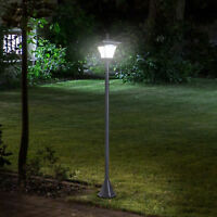 Outdoor Garden Solar Light with Base Post Lamp Freestanding IP44 Energy-saving