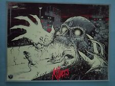 """Iron Maiden """"Killers"""" Signed Print / Limited Edition of 10 """"PRINTERS PROOF"""" RARE"""