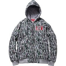 SUPREME Quilted Hooded Jacket Camo M box logo safari comme S/S 13 camp cap
