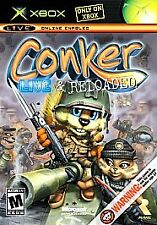 CONKER LIVE AND RELOADED ORIGINAL XBOX DISC ONLY