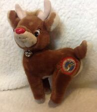 "Vintage Applause 10"" Rudolph Red Nosed Reindeer"