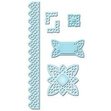 Spellbinders Shapeabilities Lace Doily Accents 6 Dies