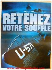 U571 Affiche Cinéma / Movie Poster HARVEY KEITEL BILL PAXTON