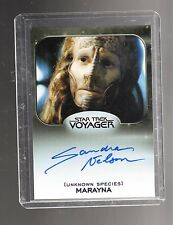 Star Trek 50th Anniversary Sandra Nelson autographed card