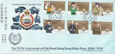 Hong Kong - 1994 - Commemorate Souvenir Issue -  Police Anniversary 1884 To1994