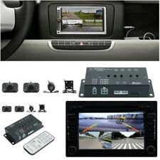 Vehicles 360°Full View DVR Video Parking Image w/ Front/Rear/Right/Left 4 Camera
