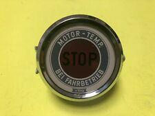 VW Beetle Karmann Ghia Porsche Accessory VDO Temperature Warning STOP NOS