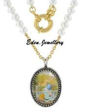 Gorgeous Disney Couture WINNIE the POOH Christopher Robin Pearl Necklace SALE