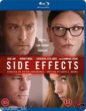 Side Effects Blu-ray film Region B NEW SEALED Jude Law, Rooney Mara