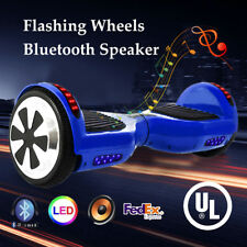 """Ul2272 6.5"""" Wheel Electric Hoverboard Smart Self Balancing Scooter Bluetooth Led"""