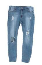 Unbranded Faded Boyfriend Jeans for Women