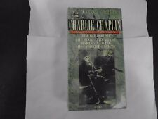 Charlie Chaplin (1915-1916) The Gold Rush, The Rink, The Tramp. New 2 Vhs