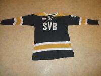"""SV Bayreuth Original Eishockey Matchworn Trikot 1980/81 """"SVB"""" + Nr.18 Gr.L- XL"""