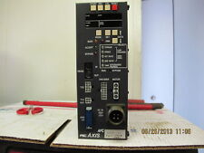 FEC Axis Controller System Axis 103 AFC1100 103A Working Pull 2010 Calibration