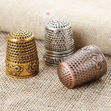 Hard Metal Sewing Thimble Sewing Tools Needles Partner Finger Protector 3 Colour