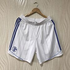 SCHALKE 04 2012 2013 HOME FOOTBALL SHORTS ADIDAS V13396