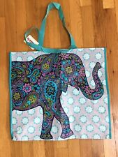 TJ MAXX~Elephant~Reusable Eco Friendly Tote Shopping Bag