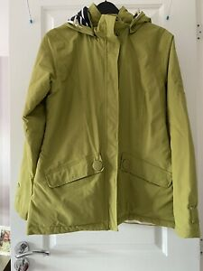 Seasalt Waterproof Coat Green 8 Ladies