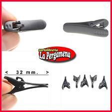 2 MINI CLIP MICROFONO AURICOLARI CUFFIE Iphone Smartphone Ipod cell. pinza MP3