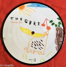 "THE CURE - Taking Off - Rare UK 7"" Picture Disc (Vinyl Record) Stickered Sleeve"