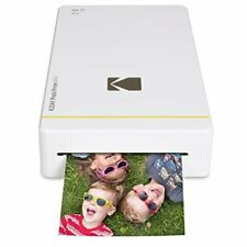 Portable Photo Printer Instant Small Mobile Phone Wireless Picture Print White