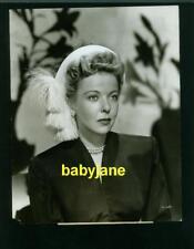 IDA LUPINO VINTAGE 7X9 PHOTO 1947 HAT FASHION PUBLICITY