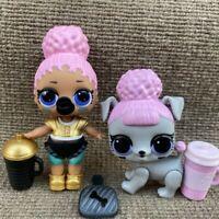 LOL Surprise Doll Touchdown Big Sister & Rufferee Pup Confetti Pop Series 3 Toys