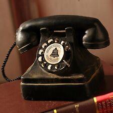 téléphone  rétro vintage décoration d'interieur en résine