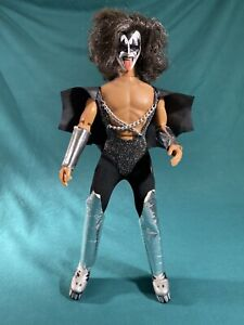 Vintage 1977 Mego Articulated KISS Gene Simmons 13 Inch Doll Figure
