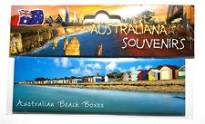Brighton Beach Boxes Melbourne Australia Photo Image Fridge Magnet Souvenir