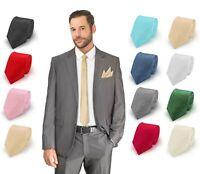 Krawatte gestreift Tie Schlips Binder Busniess Kravatte 7 cm Herren Hochzeit