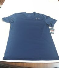 Nike Men's Dri Fit Fitted Short Sleeve Tee Shirt Sz L 728053 - 451 NEW WITH TAG