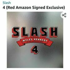 SIGNED CD SLASH ft. MYLES KENNEDY & THE CONSPIRATORS - NEW ALBUM '4' AUTOGRAPHED