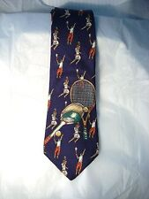 MEN'S ROOSTER TENNIS TIE 100% SILK MADE IN THE USA