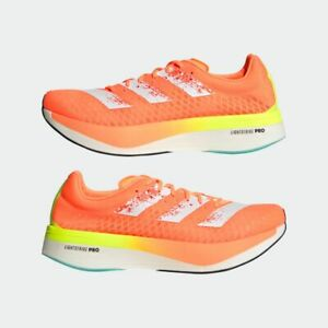 adidas Adizero Adios Pro Screaming Orange GZ8952 Authentic Men Size US 4.5 - 13