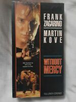 WITHOUT MERCY (VHS 1995)RARE (OOP) NOT ON DVD! SCREENER COPY MARTIAL Arts NEW !