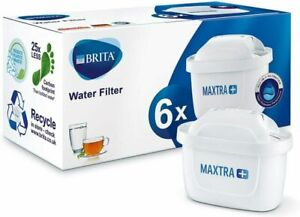 Brita Maxtra+ Water Filter Cartridge, White - Pack of 6
