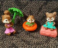 McDonald's Happy Meal Toy 2011 Alvin and the Chipmunks Lot of 3