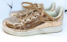 Schuh Damas EU 39 UK 6 Brillante Oro Rosa Zapatillas Zapatos Sneekers