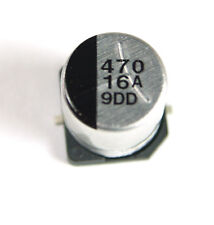 12  pcs   -   470uf  16V  SMD  Electrolytic Capacitors ECEV1CA471P  PANASONIC