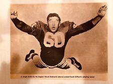 CHUCK BEDNARIK 1961 Pro Football Magazine cut-out picture - PHILADELPHIA EAGLES