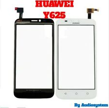 "TOUCH SCREEN+VETRO PER HUAWEI Y625 5"" ASCEND DISPLAY LCD COVER RICAMBIO BIANCO"
