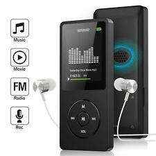 MP3 Player with FM Radio and Voice Recorder, Ultra Slim Music Player with Video