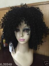 Chic Kinky Curly Hair Hairstyle Capless Synthetic Hair African American Wigs