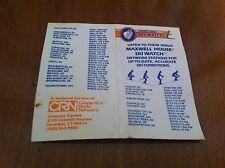 Vintage Maxwell House Coffee Ski watch Connecticut Radio Network Skiing Ephemera