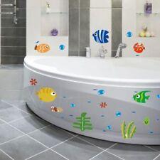 New Ocean Sea Fish Vinyl Removable Mural Wall Sticker Kids Room Bath Art Decor