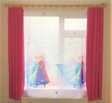 Ready made Curtain & Net curtain Set - Disneys Frozen